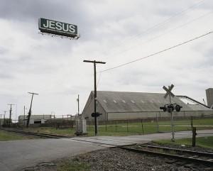 """""""Jesus"""" from Floating Logos by Matt Siber"""